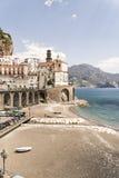 Atrani - costa di Amalfi Immagini Stock Libere da Diritti