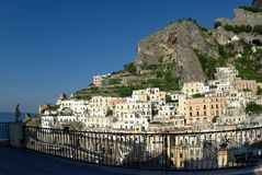 Atrani panorama Royalty Free Stock Photo