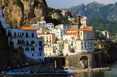 Atrani Resort, Italy, Europe. Atrani Resort - luxurious touristic destinationin Europe royalty free stock images