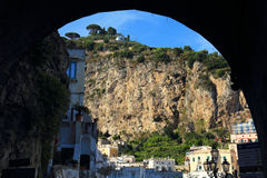Atrani Resort, Italy, Europe royalty free stock photo