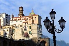 Atrani Resort, Italy, Europe royalty free stock photography