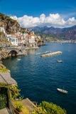 Atrani - Salerno, Campania, Italy, Europe stock photography