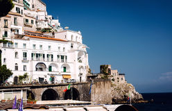 Atrani village Stock Photography