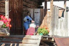 Atrap lale handycraft ` s kobiety Zdjęcia Stock
