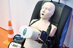 Atrapa i medyczny machinalny klatki piersiowej ściskania przyrząd obrazy stock