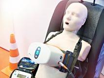 Atrapa i medyczny machinalny klatki piersiowej ściskania przyrząd fotografia royalty free