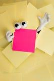 Atrapado debajo de papeleo Fotografía de archivo libre de regalías