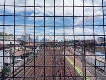 Atrapado en la ciudad Fotos de archivo