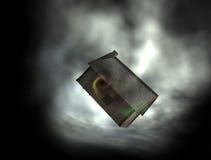 Atrapado en un tornado. Fotos de archivo libres de regalías