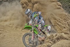 Através da poeira Imagem de Stock