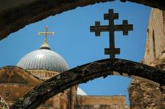 Através das cruzes de Dolorosa Imagens de Stock Royalty Free
