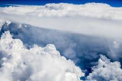 Através do abismo do céu Imagens de Stock