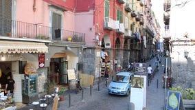 Através do dei Tribunali em Nápoles filme