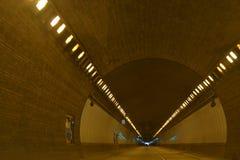 Através do túnel Imagem de Stock Royalty Free