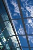 Através do telhado Fotografia de Stock Royalty Free