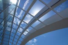 Através do telhado Imagem de Stock