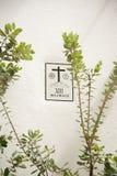 Através dos crucis Imagens de Stock Royalty Free