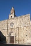 Atri (Abruzzi, Italië), kathedraal royalty-vrije stock afbeelding