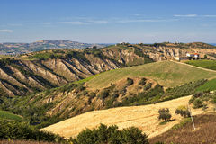 Atri Natural Park (Italy), landscape Stock Images