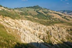 Atri's badlands, Italy Royalty Free Stock Photography