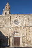 Atri (Teramo, Abruzzi, Italien), Kathedrale Stockbilder