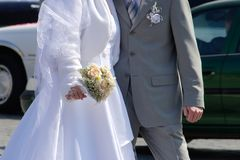 Atributos Wedding fotos de archivo libres de regalías