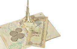 Atributs van het reizen in Verenigde Arabische Emiraten Royalty-vrije Stock Fotografie