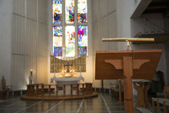 Atril de la catedral Imagen de archivo libre de regalías