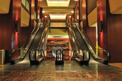 Atrio del hotel de Sheraton Fotografía de archivo libre de regalías