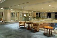 Atrio dell'hotel Fotografia Stock