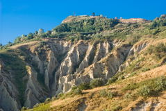 Atris badlands, Italy Royalty Free Stock Photography