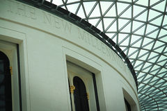 Atrium of the British Museum Royalty Free Stock Photo