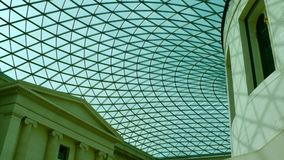 The British Museum. The atrium of the British Museum in London, England Royalty Free Stock Image