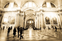 Atrium of the Church Royalty Free Stock Photography