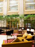 atrium dining hotel luxury Στοκ Φωτογραφίες