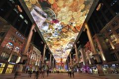 Atrium, Inside view of  Shopping Mall Stock Photos