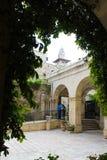 Atrium kościół potępienie, Via Dolorosa, Jerozolima, Stary miasteczko, Izrael, pielgrzymka obrazy royalty free
