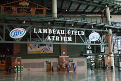 The Atrium at Lambeau Field Royalty Free Stock Image