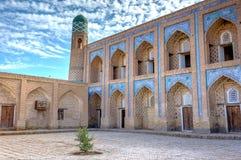 Atrium of the madrassa, Khiva Royalty Free Stock Photos