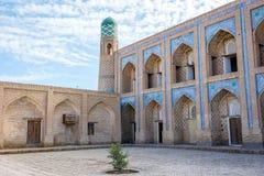 Atrium of the madrassa, Khiva Royalty Free Stock Image