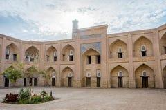 Atrium of the madrassa, Khiva Royalty Free Stock Photography