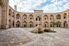 Atrium of the madrassa, Khiva Stock Photos