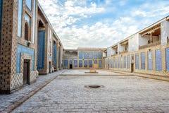 Atrium of the madrassa, Khiva Stock Images