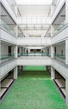 Atrium in an office building royalty free stock photography