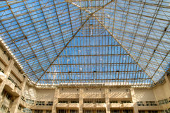 Atrium roof. The roof of an atrium or courtyard royalty free stock image