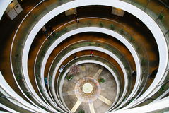 Atrium with spiral slope Royalty Free Stock Image
