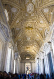 Atrium of St. Peter's Basilica , Vatican City Royalty Free Stock Image