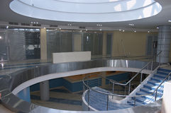 atrium urzędu Fotografia Royalty Free