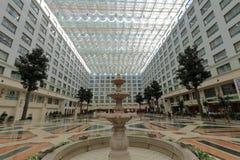 Atrium van het Xianglu het grote hotel Royalty-vrije Stock Fotografie