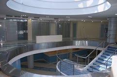 atriumkontor royaltyfri fotografi